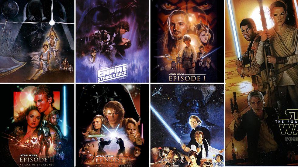 Cuál Es El Orden Perfecto Para Ver Las Películas De Star Wars