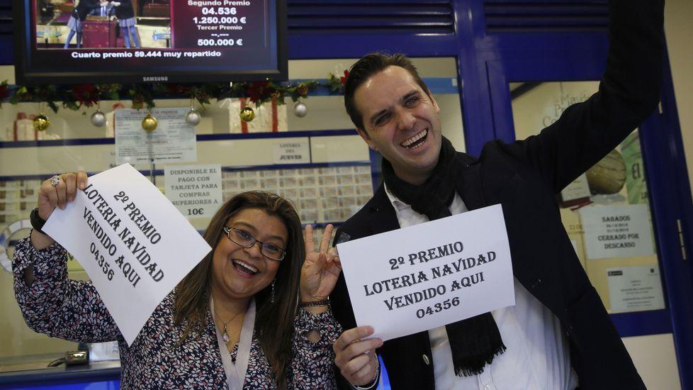 Lotería de Navidad: La suerte, esquiva con Galicia, solo ...