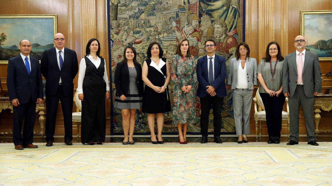El vestido que «unió» a Letizia Ortiz y a Carlota Corredera