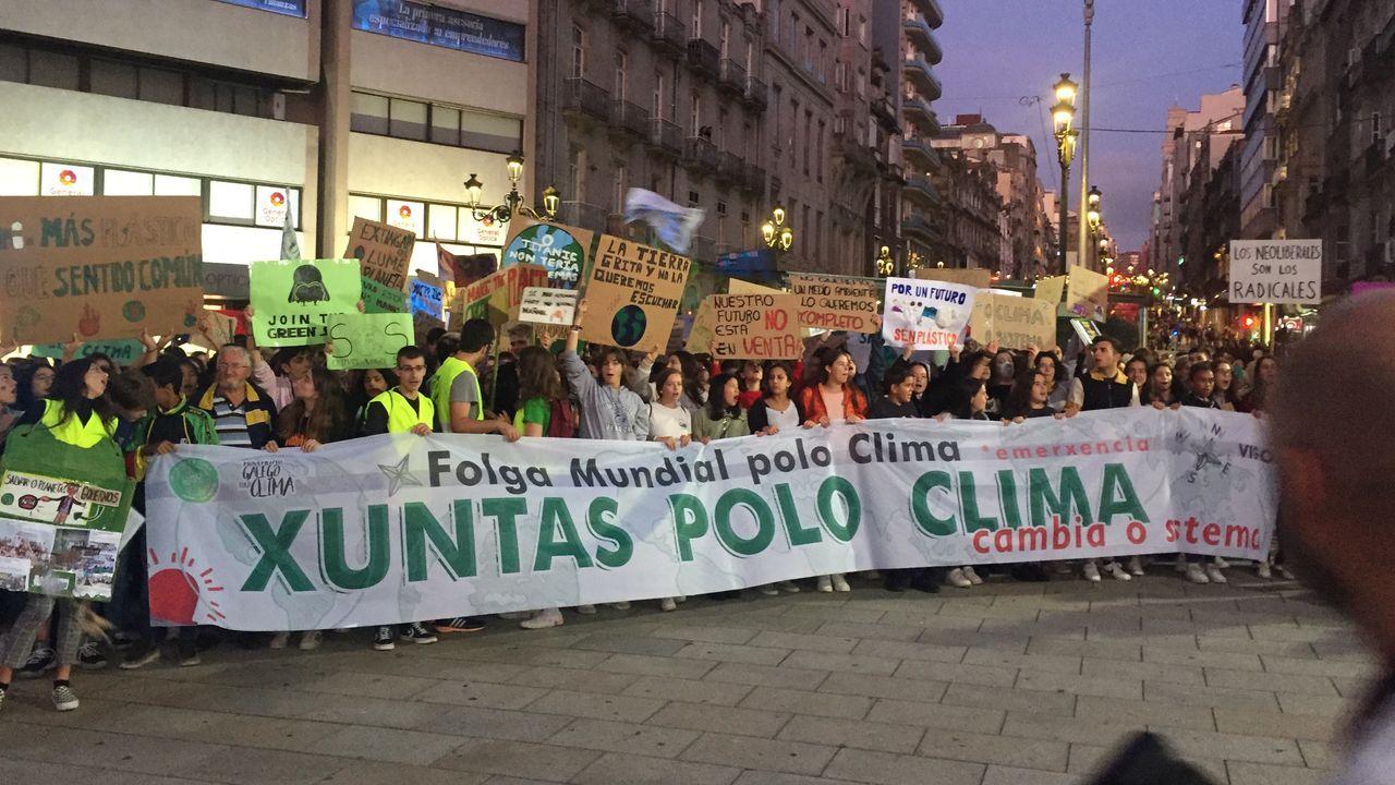 Resultado de imagen de folga polo medio ambiente en galicia