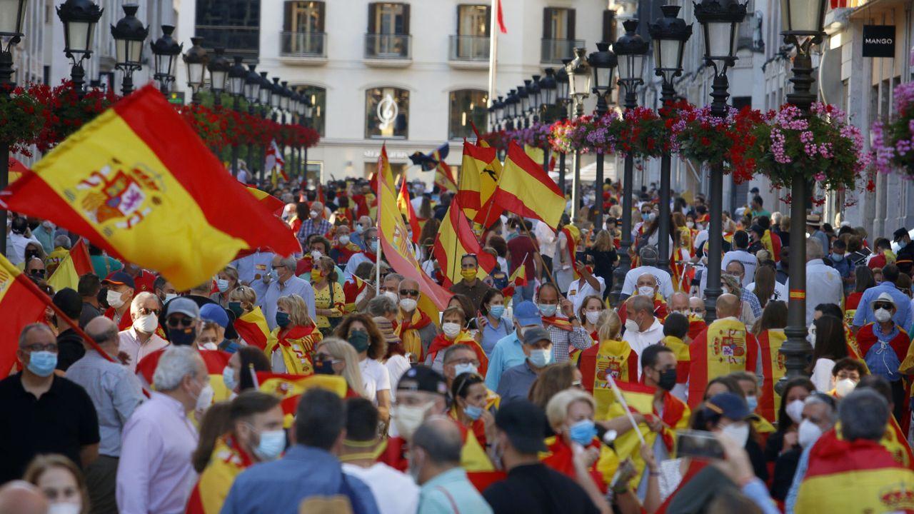 Polémica por una manifestación contra el Gobierno en Málaga