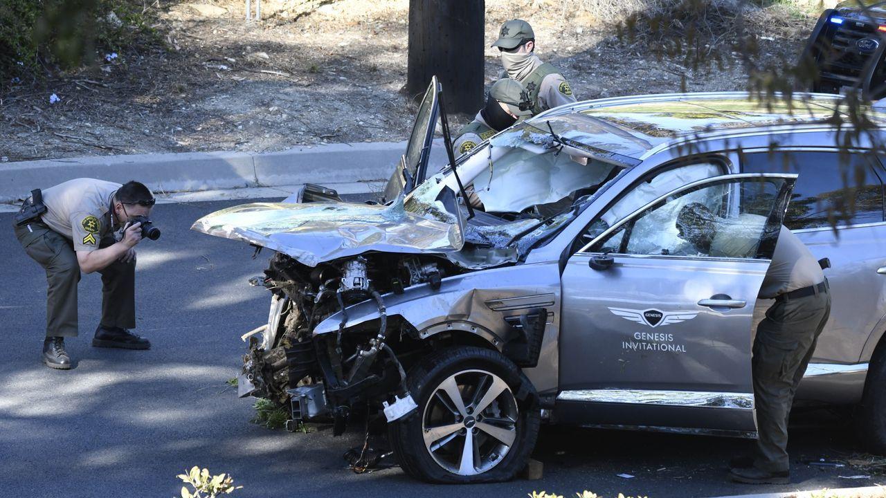 El sheriff de Los Ángeles sobre el accidente: «Tiger Woods iba a una  velocidad mayor de lo normal»