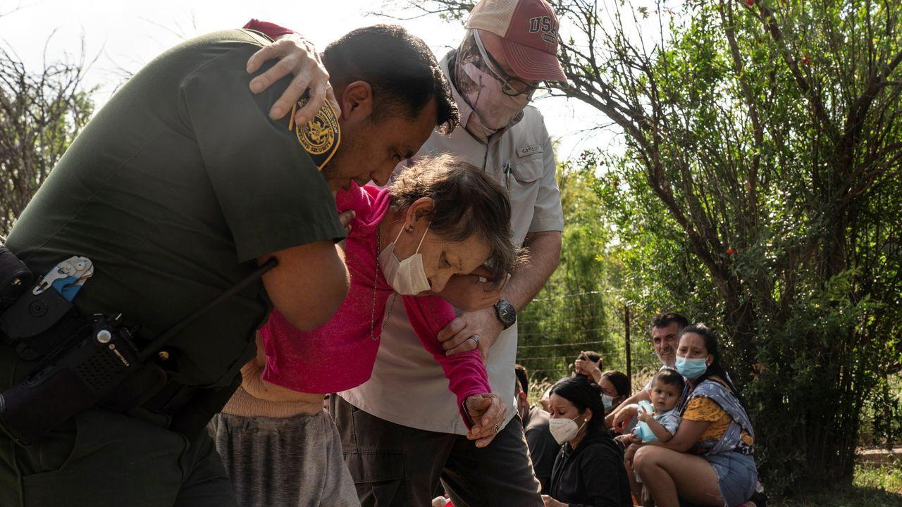 El drama del éxodo venezolano llega a río Bravo