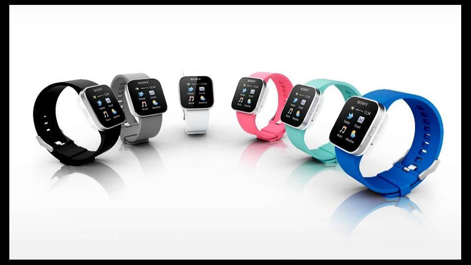 388d2e060e31 Sony lanza un reloj de pulsera con conexión a Internet