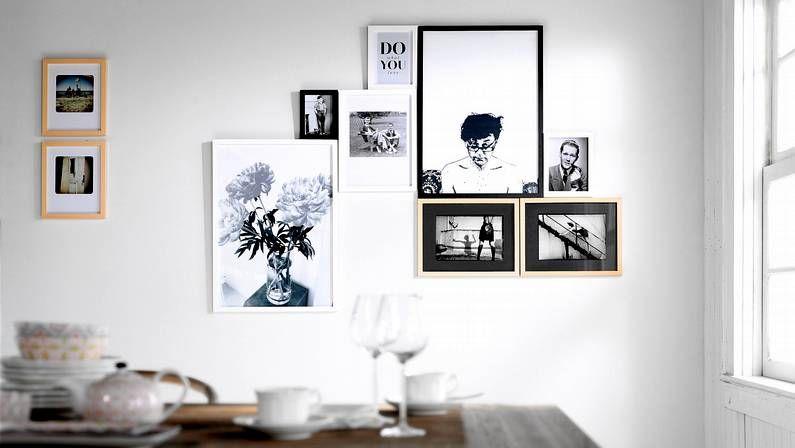 Cómo enmarcar y colgar un cuadro en casa?