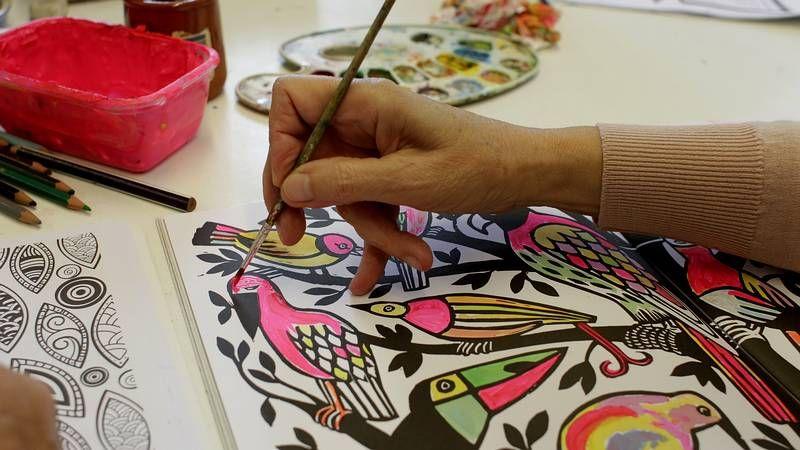 Arte-terapia, la nueva fórmula para combatir la ansiedad