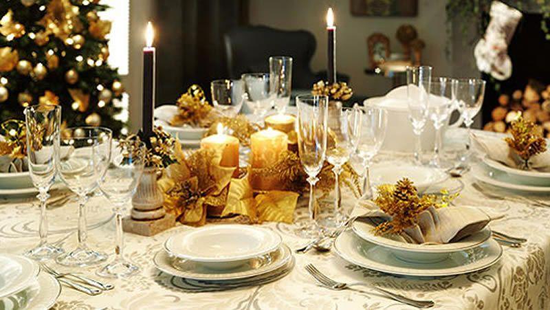 mesa de nochevieja