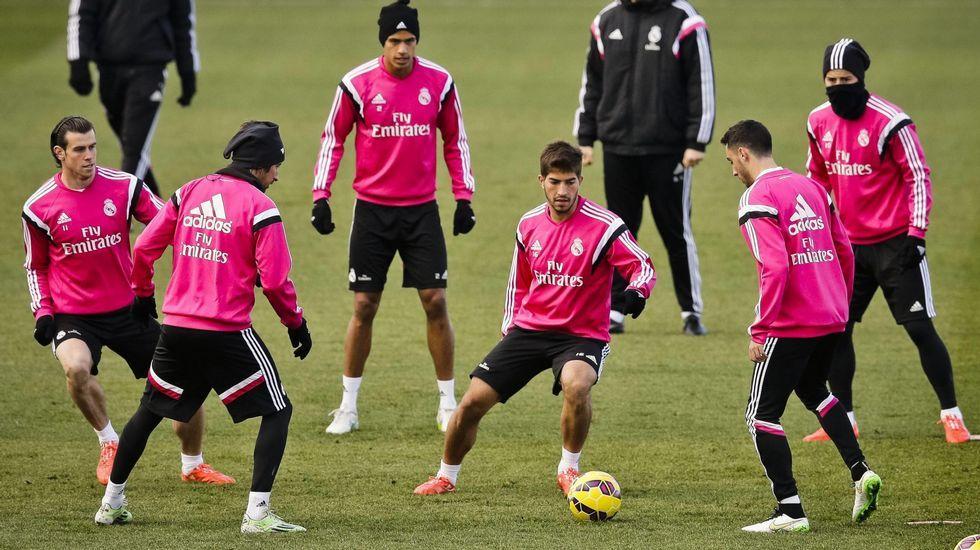 Imagen de archivo en el Real Madrid (Foto: EFE).