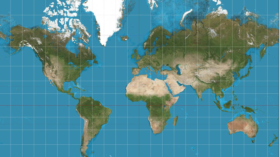 Gerardus Mercator por culpa de este seor Europa se cree el