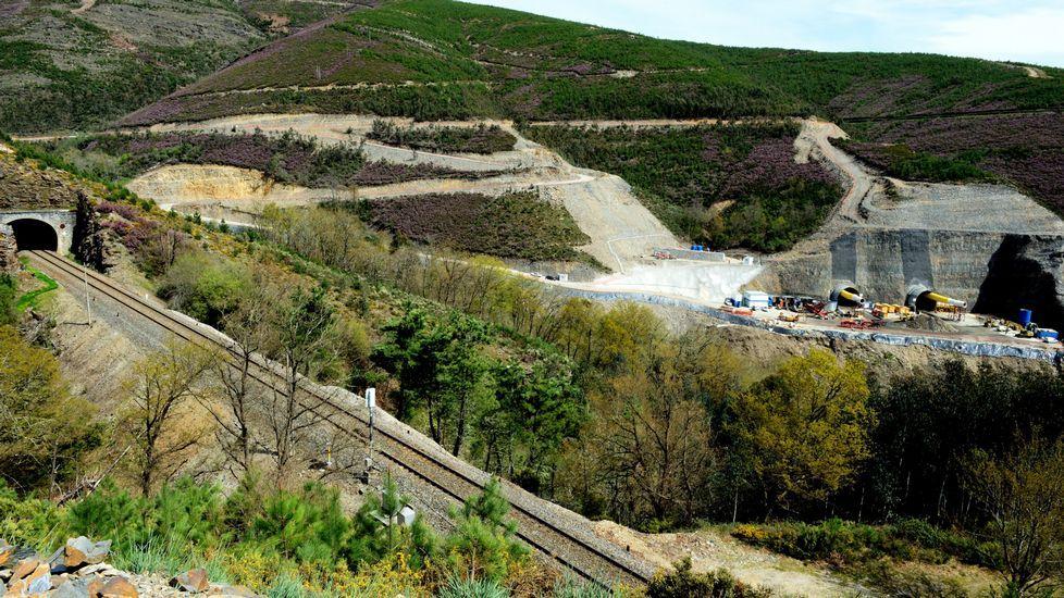 Reanudan las obras en uno de los túneles del AVE que estaban paralizados