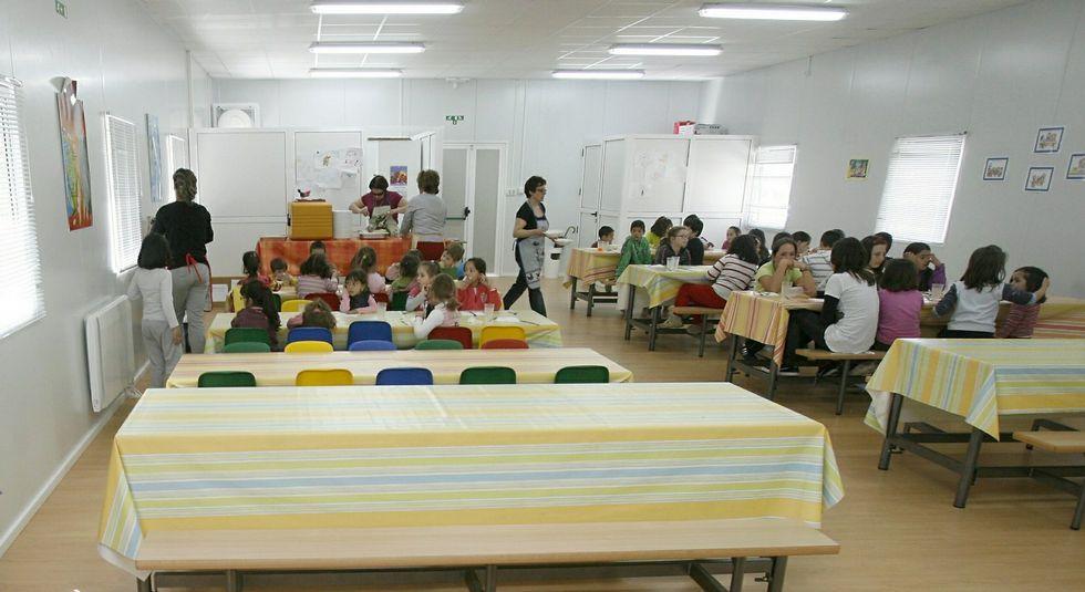 Los colegios de Narón tendrán 29 plazas más de comedor escolar
