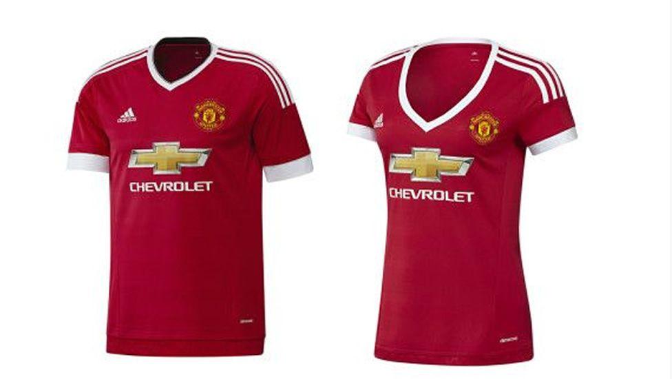Acusan de «sexista» al Manchester United por su nueva camiseta para mujeres a93b15b830331