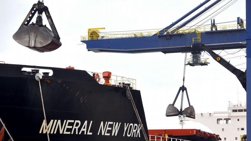 El Puerto de Ferrol canaliza el 10 % del tráfico de granel sólido ...