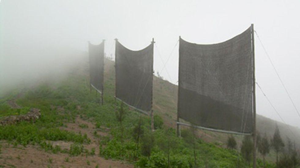 Resultado de imagen de como fabricar un atrapa niebla