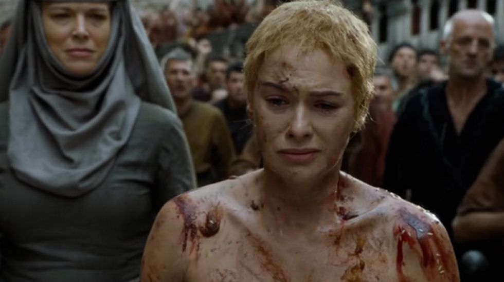 Juego De Tronos El Paseo De La Vergüenza De Cersei