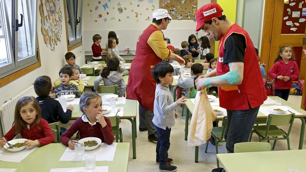 El comedor escolar como vía para buscar la inserción laboral