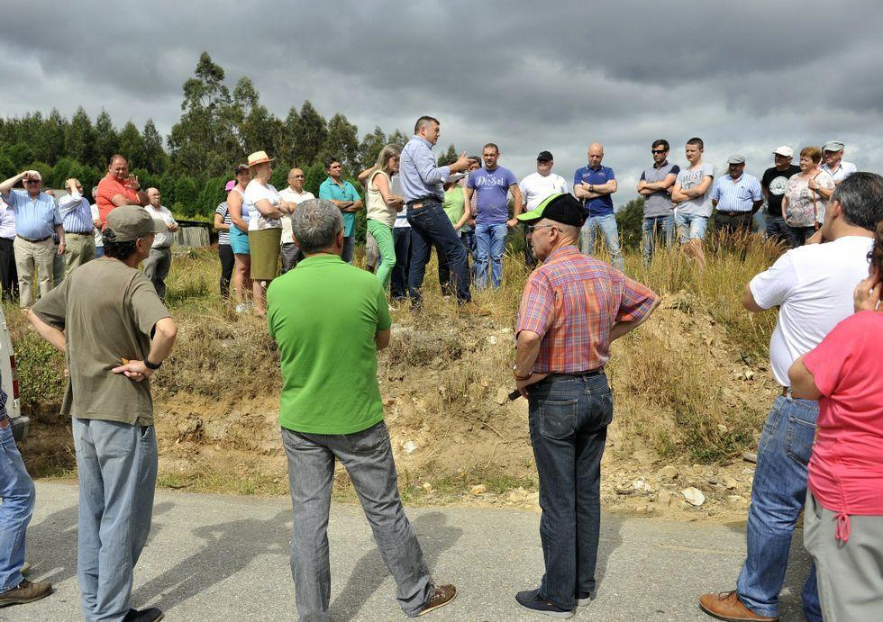 Xiloga reanuda el depósito de tecnosuelos en la cantera de Camiño ...