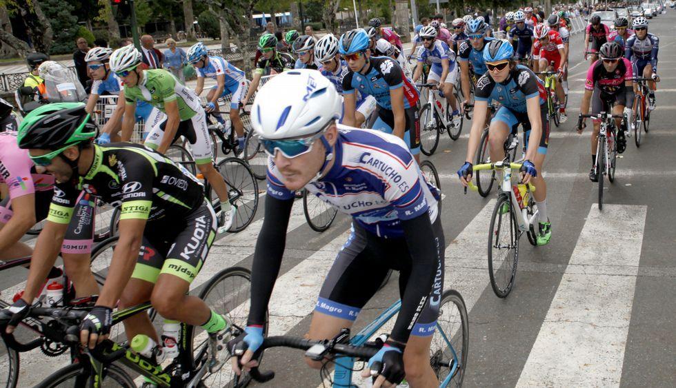 Marcos Jurado, líder de la carrera