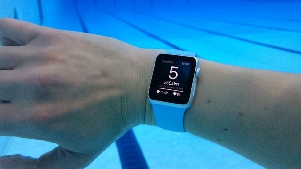 Un kilómetro nadando con el Apple Watch 2 bb17cbae46f
