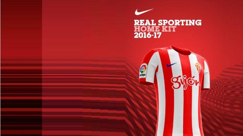 Oficial  La camiseta del Sporting será de Nike 96eb01114e2b5