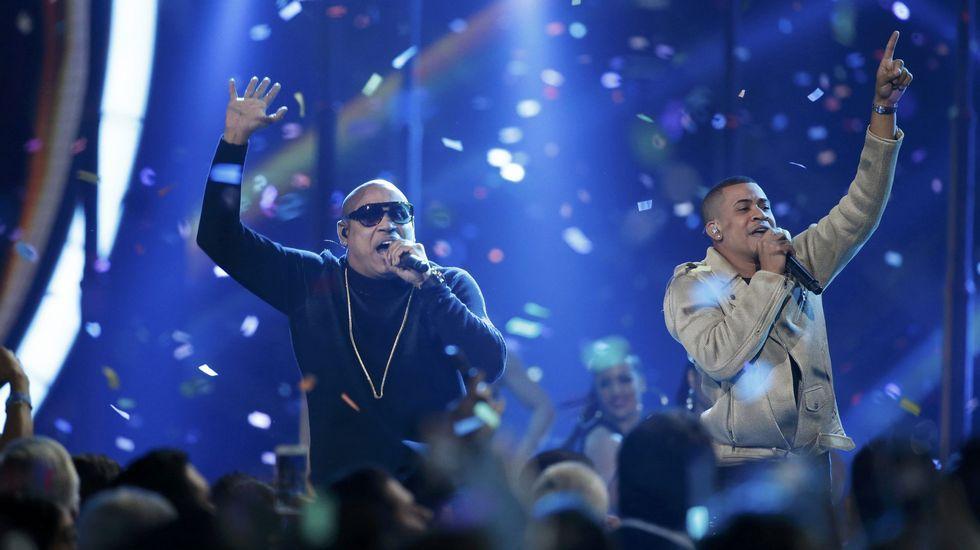 Gente de Zona en la gala de los Grammy latinos el pasado mes de noviembre