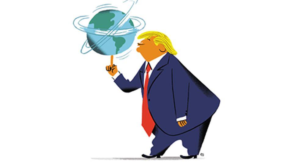 Resultado de imagen para Trump en la incertidumbre viñetas