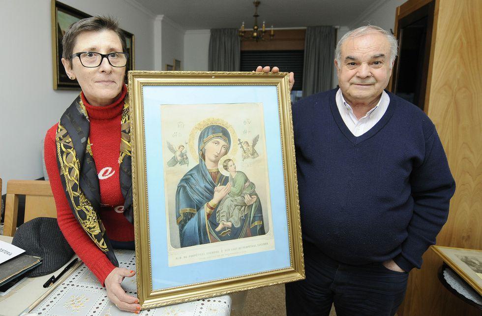 Lalín descubre a su Virgen del Perpetuo Socorro