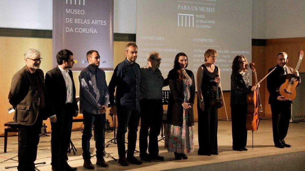 Cinco compositores para cinco cuadros