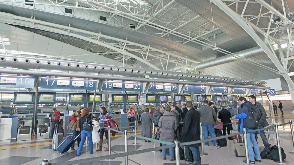 oporto, el aeropuerto de todos los gallegos