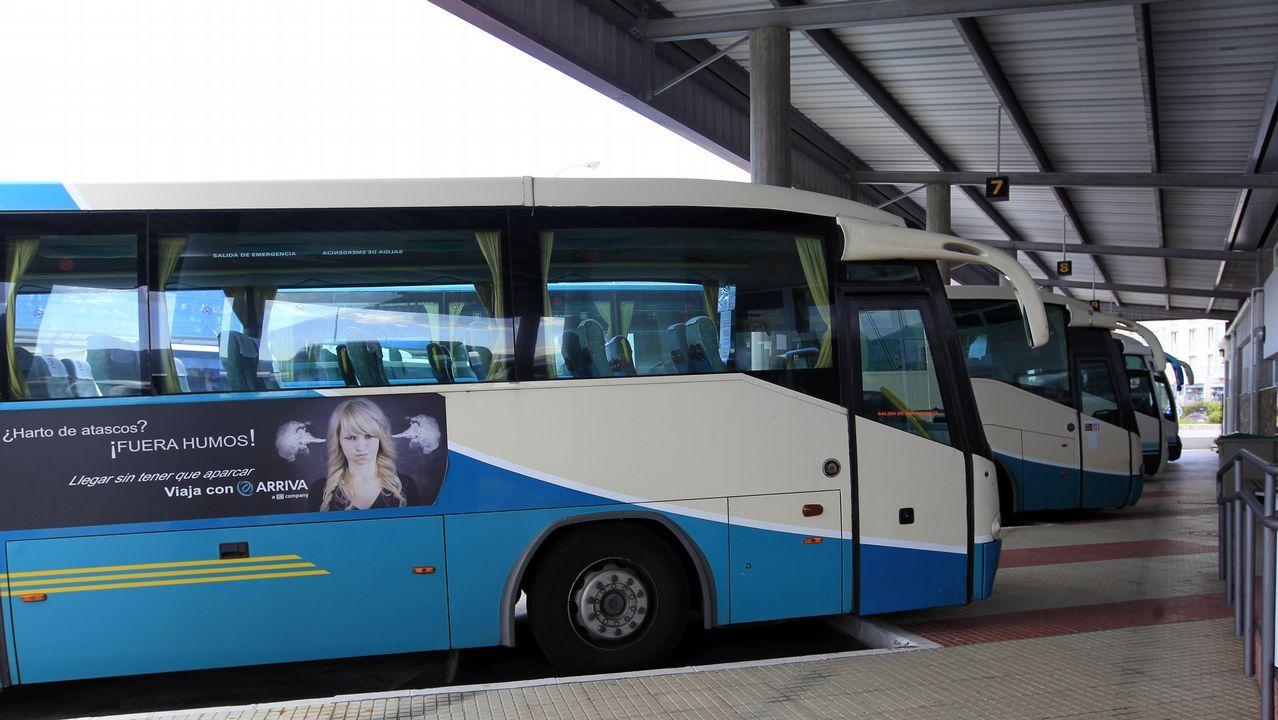 Resultado de imagen de autobus a pontenova