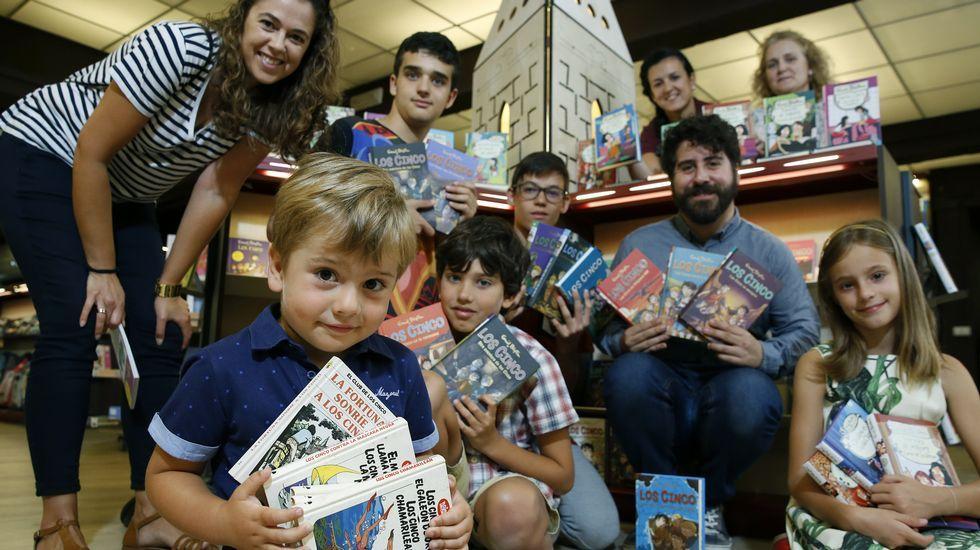 La autora de «Los Cinco» no abandona la infancia