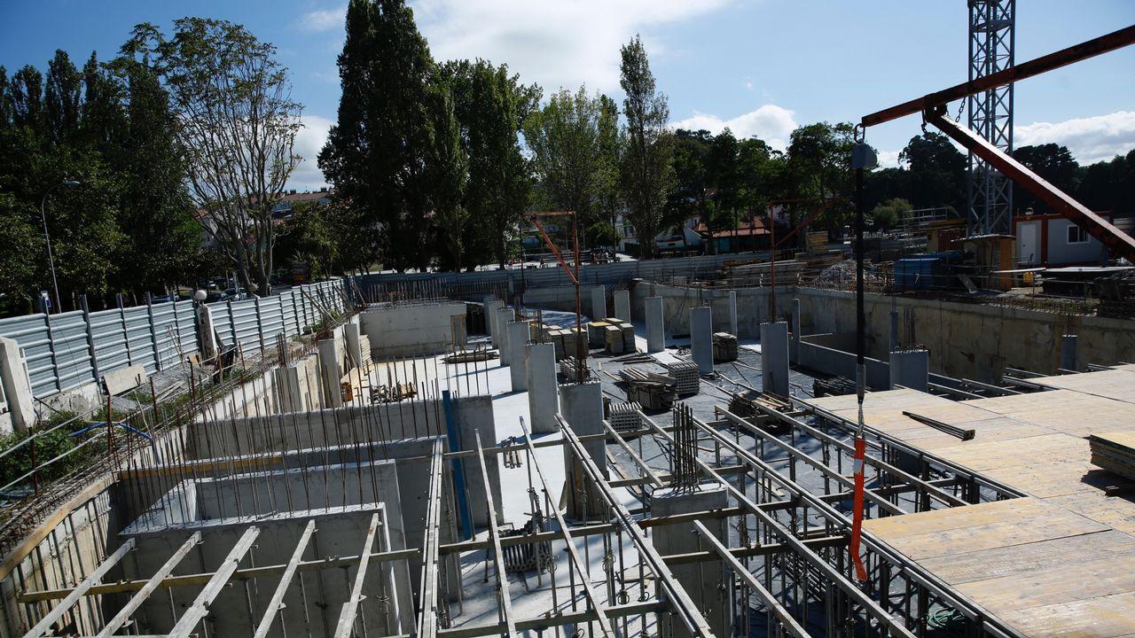 Incertidumbre entre los vecinos de Santa Cruz por las obras del hotel
