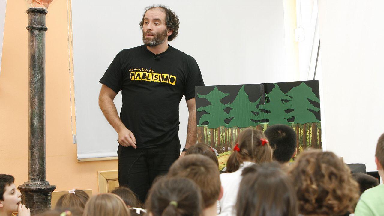 Cuentos con Pablo Pablísimo para niños a partir de tres años