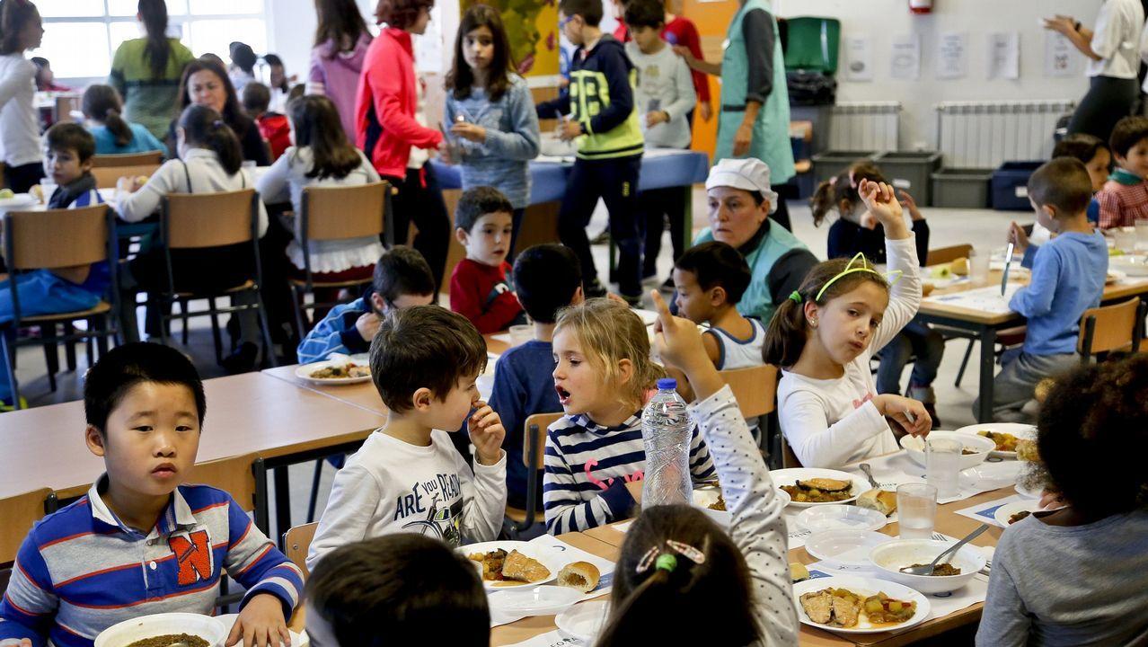 Ninguna familia se quedará sin beca para el comedor escolar