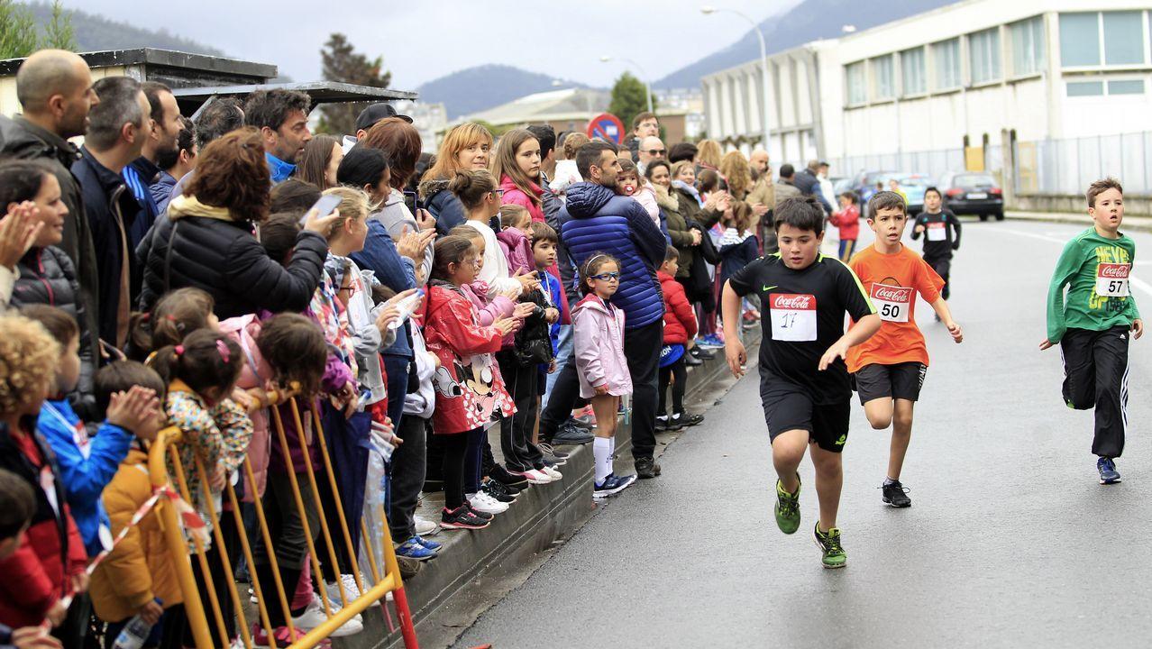 La lluvia dio una tregua a los niños en la carrera popular ...