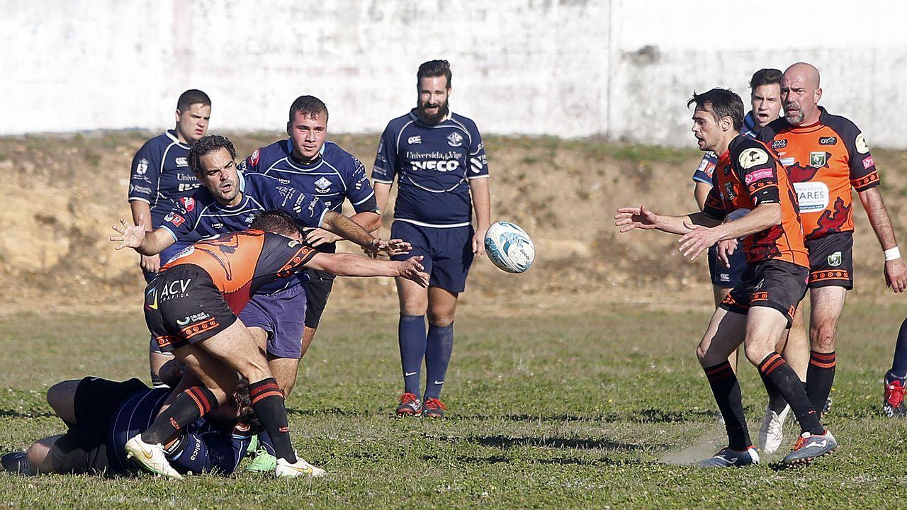 El Barbanza tiró de velocidad en tres cuartos para ganar en Ourense