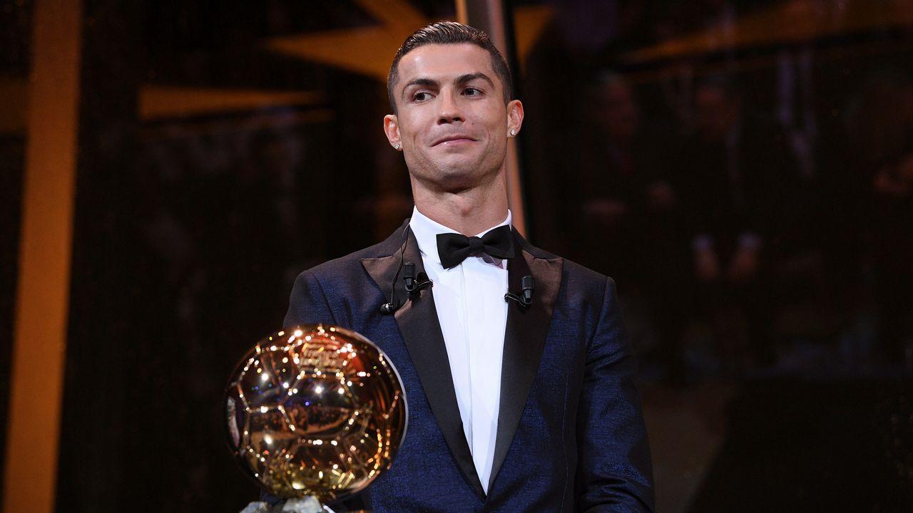 Cristiano Ronaldo alza su quinto Balón de Oro f13e28ef1d84a