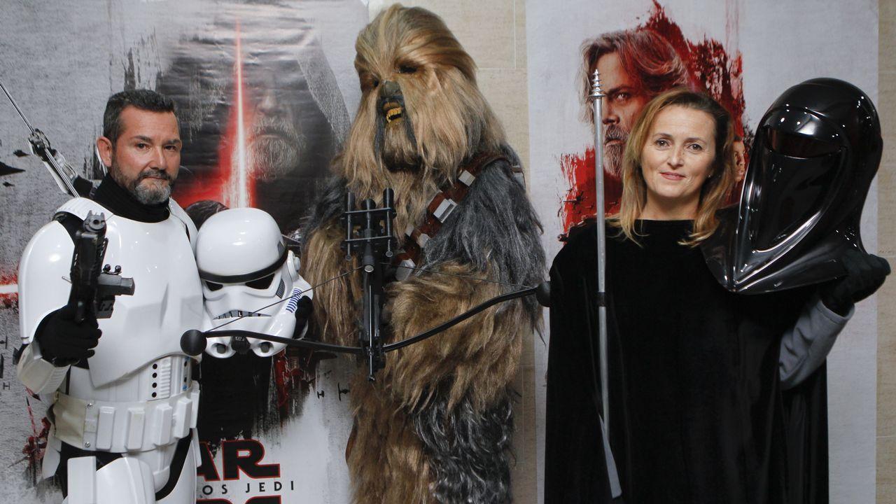 La fiebre de «Star Wars» llega a Narón