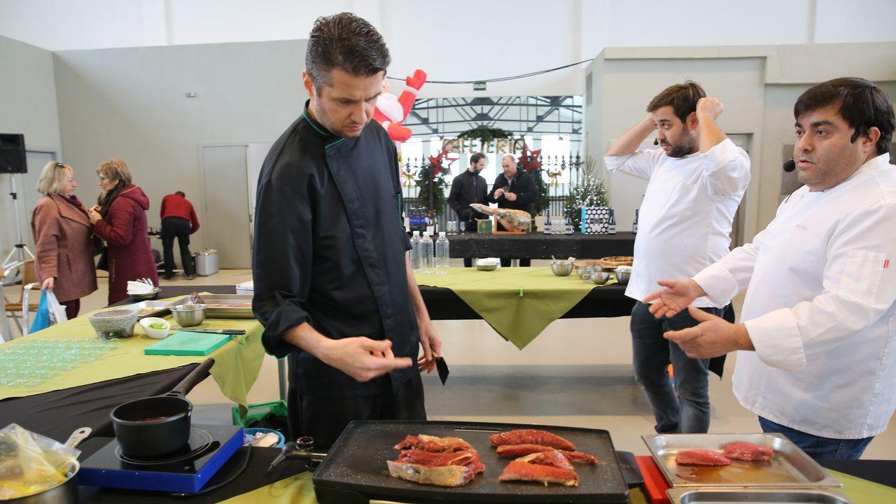Demostración de cocina en Vilagarcía