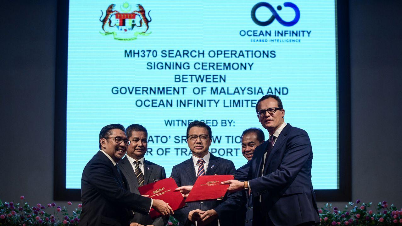 Una empresa estadounidense reanuda la búsqueda del avión de Malaysia ...