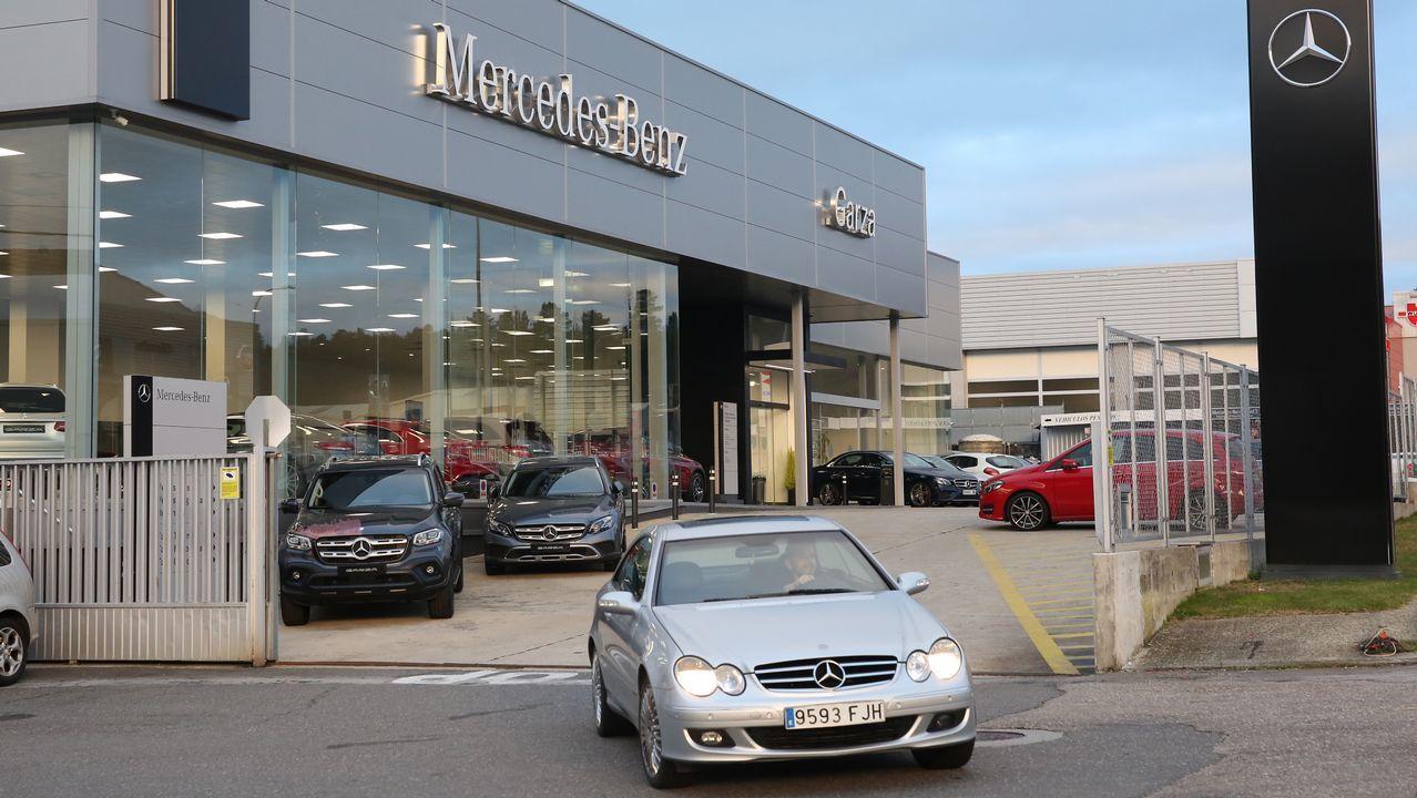 El grupo Louzao se hace con el concesionario de Mercedes de Ourense