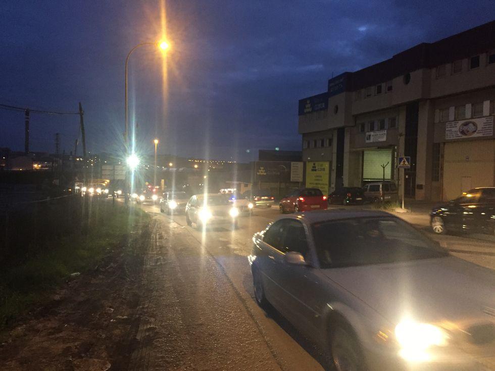 Carretera Baños De Arteixo | Un Accidente En La Carretera Banos De Arteixo Colapso Casi Dos Horas