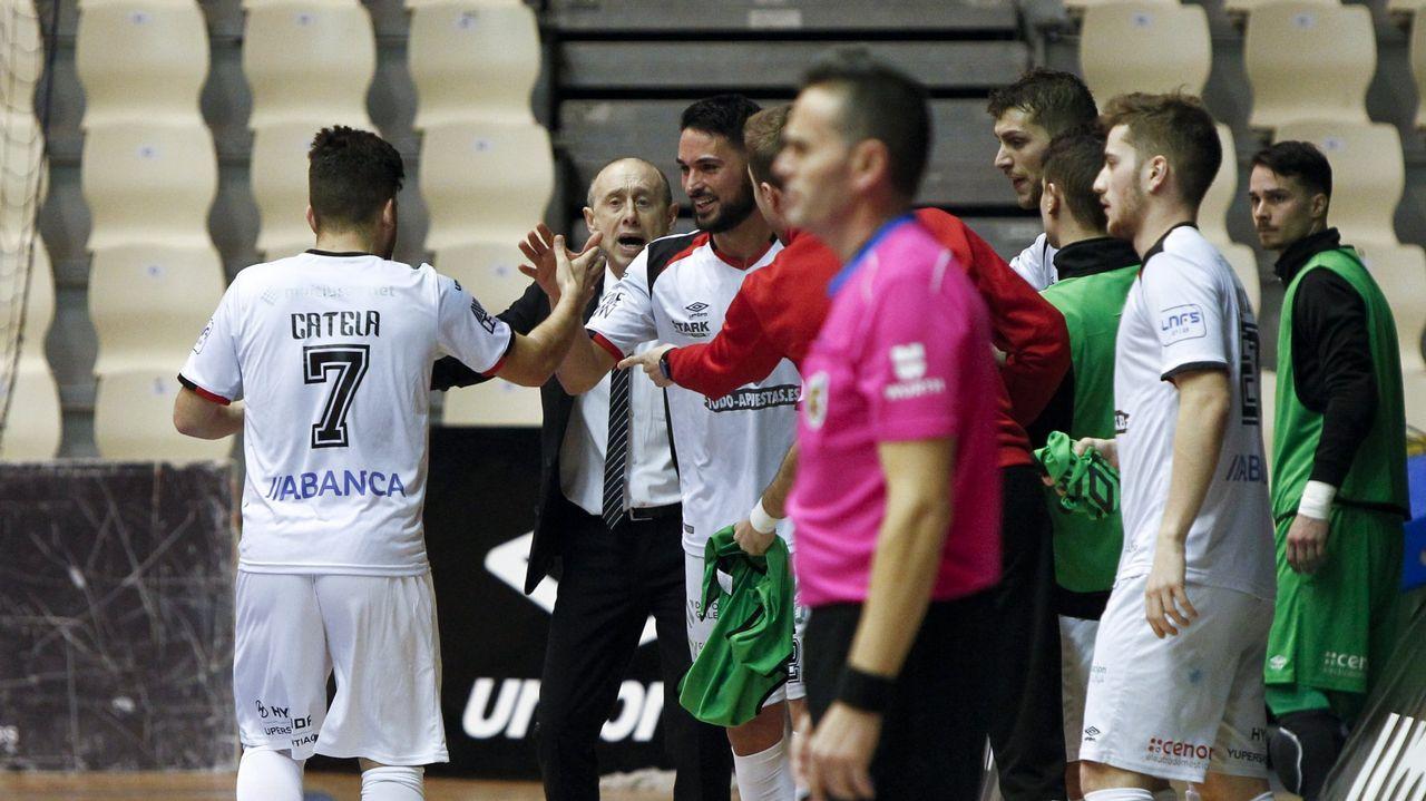El Santiago Futsal reanuda el trabajo con todo el plantel