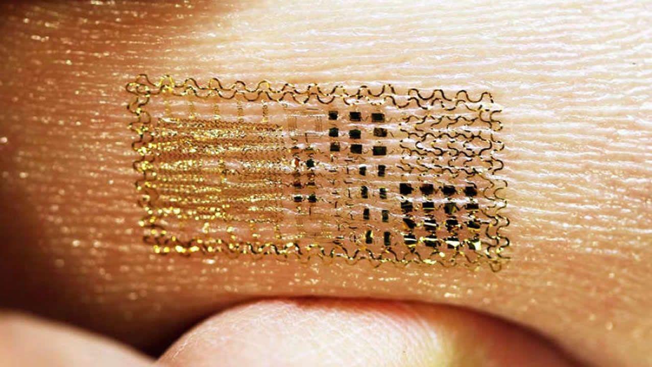 Crean Un Tatuaje Electrónico Que Mide El Ritmo Cardíaco Y La Temperatura