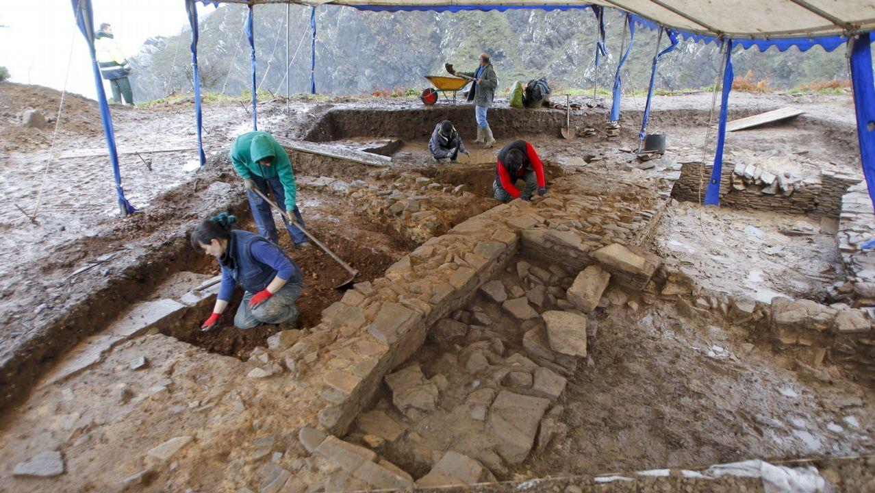 La excavación arqueológica del monumento con horno se reanudará el lunes