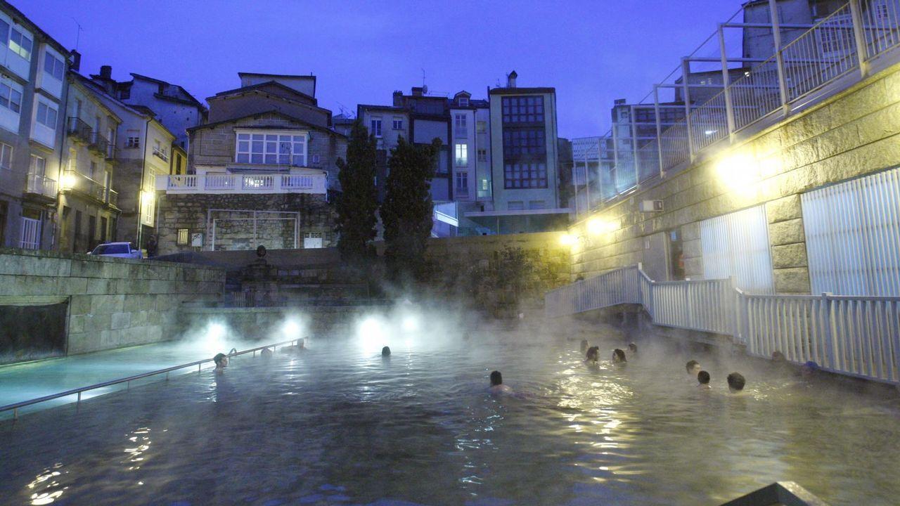 Los Baños En Las Termas De Ourense Mejoran A Los Enfermos Con Fibromialgia