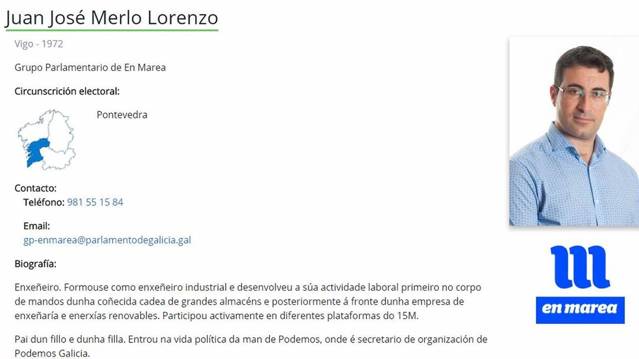 Dimite el secretario de organización de Podemos Galicia que engordó ...