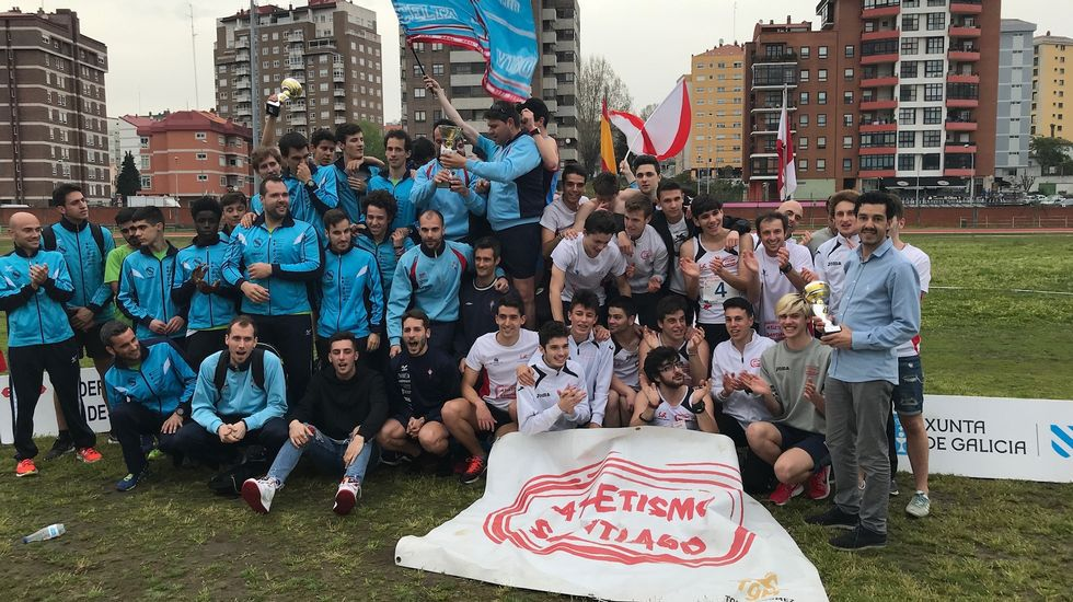 El Club Santiago conquista el bronce en el Campeonato de Galicia 25237c2a5af6a