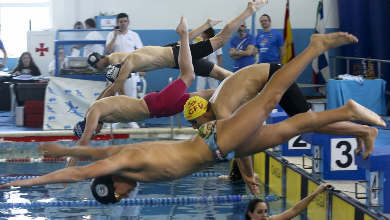 Resultado de imaxes para trofeo ciudad de lugo natacion