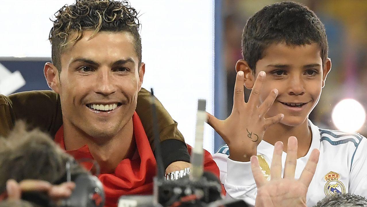 El Hijo De Cristiano Ronaldo Se Hace Su Primer Tatuaje